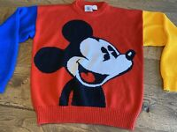 Vintage Mickey & Co. Mickey Mouse Sweater/Pullover Medium M -  FREE SHIP