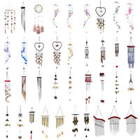 Colorful Hair Balls Wind Chimes Home Yard Garden Party Hanging Ornament Decor