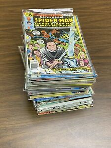 Collection 76 Comic Books Key Marvel Team-Up 74: 1st Cast Saturday Night Live