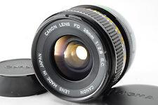[Excellent] Canon FD 28mm f/2.8 S.C. MF Fix SLR Lens For Canon FD w/ Caps READ