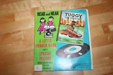 Vintage, 1958 TUGGY THE TUGBOAT, 00194, A Little Golden Book & 45 RPM Record