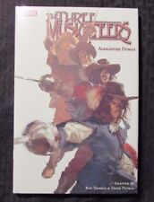 2009 THREE MUSKETEERS by Hugo Petrus HC/DJ Sealed 1st Printing Marvel GN