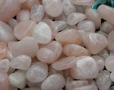 NATURAL ROSE QUARTZ STONE Tumbled 100 gm