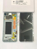 Genuine Samsung Galaxy S10 G973F LCD Assembly Prism Green GH82-18850E