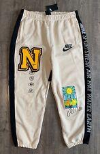 Nike Sportswear Vintage Style Men's Sz 2XL XXL Fleece Pants Oatmeal DC2723-140