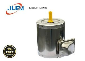 3/4 HP 1800 RPM 3 PHASE STAINLESS STEEL ELECTRIC MOTOR  56C FREE SHIPPING