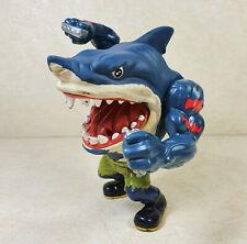 Street Sharks Ravenous Ripster Mattel 1995 Vintage Spielfigur Actionfigur