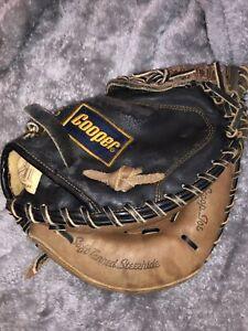 Cooper Pro Scoop Joe Soft Tanned Steerhideq Pro Diamond 224 Catchers Mitt Glove
