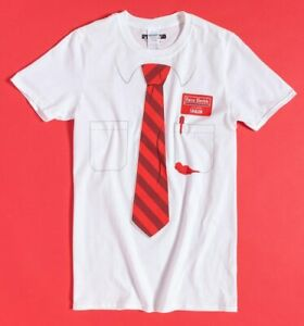 Official White Shaun Of The Dead Sales Advisor Outfit T-Shirt