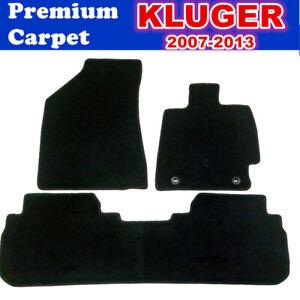 PREMIUM Prestige Carpet Car Floor Mats for TOYOTA Kluger MAY 2007 - DEC 2013