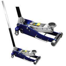 "3 Ton Aluminum Hydraulic Floor Jack Double Plunger 3-1/2"" Low Profile Light Weig"