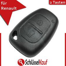 Renault 2 Tasten Autoschlüssel Vivaro Master Gehäuse Fernbedienung Remote Key