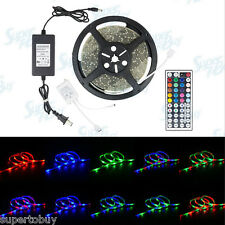 4 Pack Waterproof 20M LED SMD 3528 Strip RGB with Remote and Power Supply