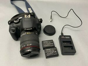 Canon EOS 1200D 18.0MP DSLR with Sigma 18-200 Lens, Plus 2 batteries, Free P&P