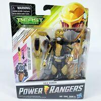 Saban's Power Rangers Beast Morphers Gold Ranger Action Figure w/ Morph X Key