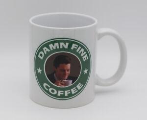 'Damn Fine Coffee' Agent Cooper Twin Peaks Inspired Coffee Mug