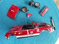 VINTAGE REVELL PORSCH KIT/SPARES OR REPAIR