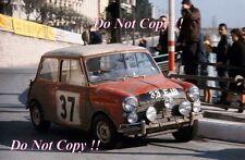 Paddy Hopkirk Mini Cooper S 33 EJB Winner Monte Carlo Rally 1964 Photograph 6