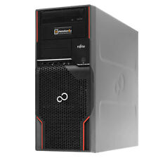 Fujitsu Celsius W510 Workstation Xeon E3-1270 8GB ram 120GB SSD quadro 600 Win10