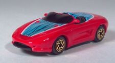 """Matchbox 1994 Ford Mustang Mach III  3"""" 1:62 Red Scale Model Convertible"""