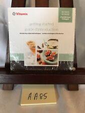 Vitamix Pro Series 750 Blender Getting Started DVD CHEF MICHAEL VOLTAGGIO! NEW!