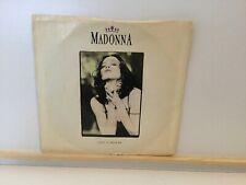 "Madonna – Like A Prayer  7"" Vinyl Single  1989    Sire 9275397   Large Centre"