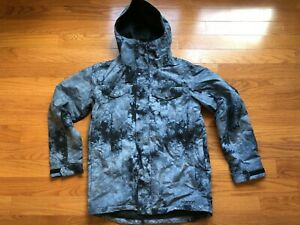 Burton The White Collection Greenlight Insulated Jacket Men Size M - FREE SHIP