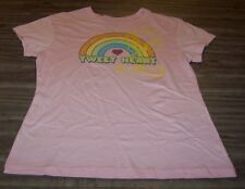 WOMEN'S TEEN WB LOONEY TUNES TWEETY BIRD PINK T-shirt LARGE 11/13 NEW