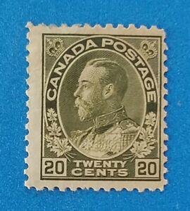 Canada stamp Scott #119 MH original gum. Good colors, perfs.