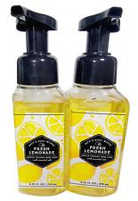 2 FRESH LEMONADE Foaming Hand Soap 8.75oz Bath & Body Works NEW Free Shipping