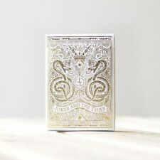 White Gold Joker and the Thief Playing Cards by JT Playing Cards and EPCC