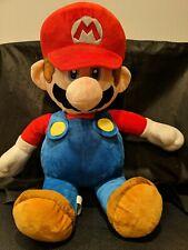 """Super Mario Giant Size Mario Plush 21"""""""