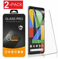 2-Pack Tempered Glass Screen Protector For Google Pixel 4 / 4a /4 XL