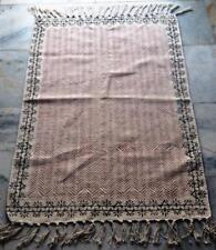 Persian/turkish kilim rug Afghan veg dyed Cotton handwoven Home Doormat 60*90cm