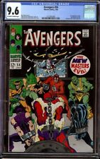 Avengers # 54 CGC 9.6 OW/W (Marvel, 1968) 1st new Masters of Evil