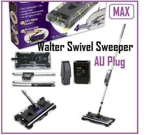 New Walter Swivel Sweeper MAX Cordless Floor Cleaner