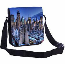 New York Dusk Small Cross-Body Shoulder Bag Handy Size