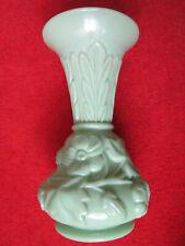 grüne Pressglasvase , 2. Hälfte 19. Jahrhundert ( 11 )