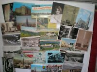 Lot Of 55+ Vintage Post Cards Assorted Subjects and Size