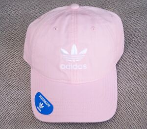 New Adidas Relaxed Modern Pink Unisex Mens Curved Dad Hat RHTADI-16