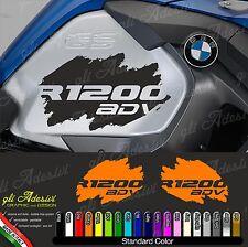 2 Adesivi Fianco Serbatoio Moto BMW R 1200 gs adventure LC 2016 macchia ADV