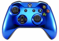 Chrome Blue Xbox One S / X Custom UN-MODDED Controller Unique Design
