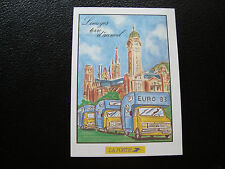 FRANCE - card 30/5/1993 (limoges gathering european campings-cars) (cy76)(Z