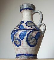 Vintage 1960s-1970s MAREI KERAMIK West German Pottery Jug Vase Fat Lava Period