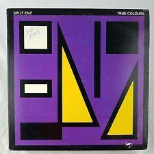 Split Enz True Colours EX Vinyl TESTED SP-4822 Etched Purple 1st US Press 1980