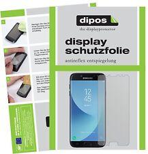 2x Samsung Galaxy J7 Pro Protector de Pantalla protectores mate dipos