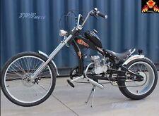 Black RARE Retro Vintage CHOPPER Lowrider Dragster Bicycle Push BIKE Low Rider