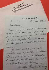 BINET-VALMER - Signature autographe