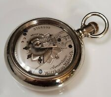 Beautiful Fancy 18s Waltham Pocket Watch