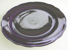 RARE CHOISY LE ROI, a forma di bordo, DARK Cobalt Blue Plate - 8 Pollici-Buone cond 'N